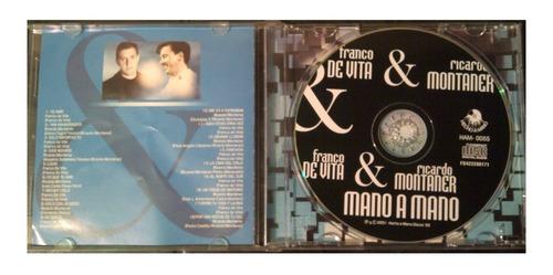 cd - franco de vita & ricardo montaner - 2001 - original