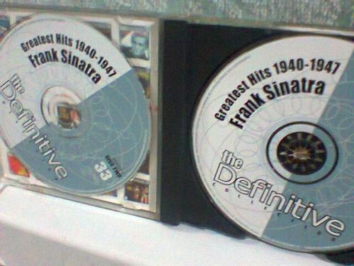 cd frank sinatra @ greatest hits 1940/47    (duplo)