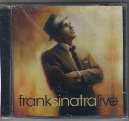 cd : frank sinatra - live