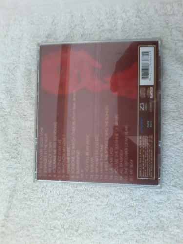 cd frank sinatra live vol,2 semi novo.