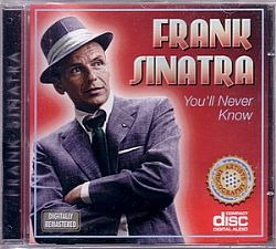 cd frank sinatra - you will never know (novo/aberto)
