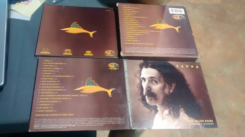 cd frank zappa, the yellow shark