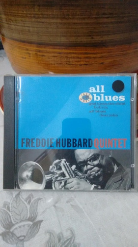 cd freddie hubbard quintet - all blues
