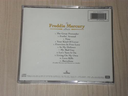 cd freddie mercury - album 1992 (queen)