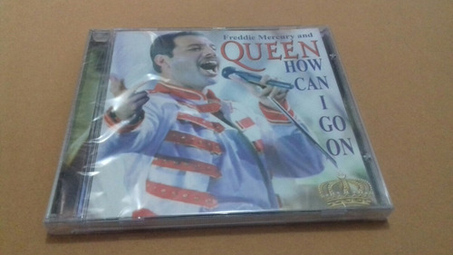 cd freddie mercury and queen lacrado