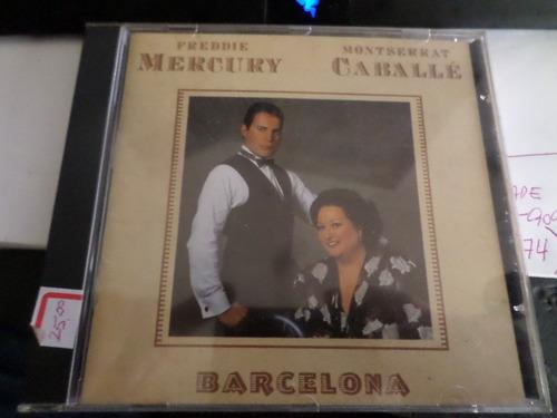 cd freddie mercury - barcelona