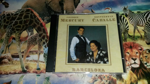 cd freddie mercury e monteserrar caballe barcelona original