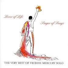 cd freddie mercury - lover of life, singer of songs