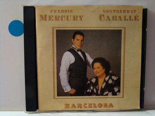 cd - freddie mercury / m. caballé - barcelona (nacional)