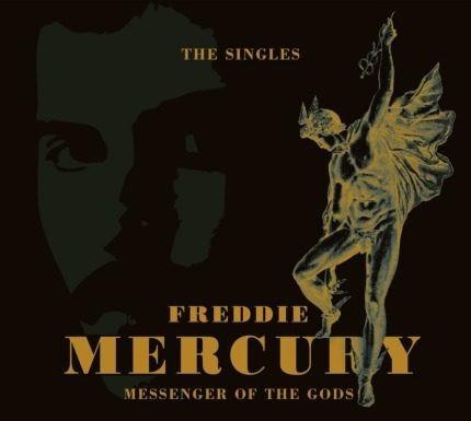 cd freddie mercury messenger of the gods the singles 2 cds