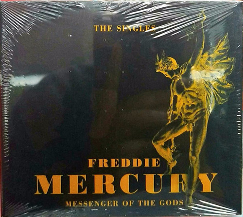 cd freddie mercury - messenger of the gods - the singles