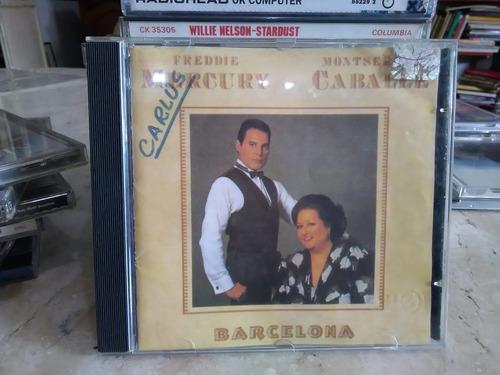 cd - freddie mercury monserrat camballé - barcelona