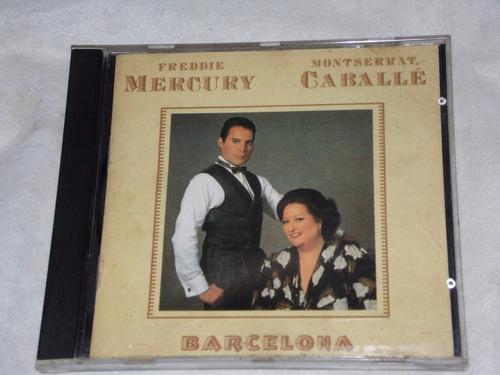 cd freddie mercury montserrat caballé barcelona polygram