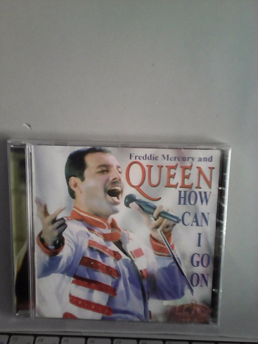 cd freddie mercury* queen how can i go on