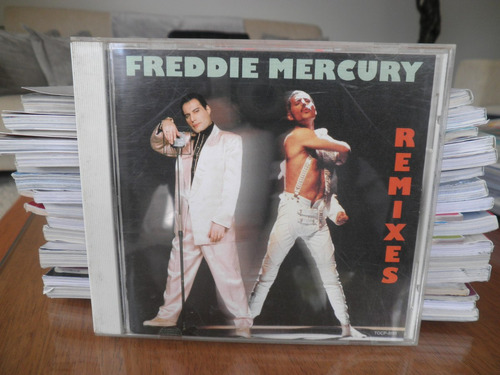 cd freddie mercury remixes made in japan - importado