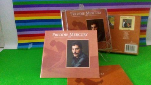 cd freddie mercury solo com cd bonus (foto real)