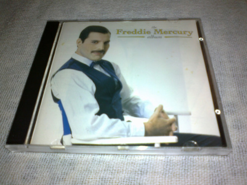 cd freddie mercury the album