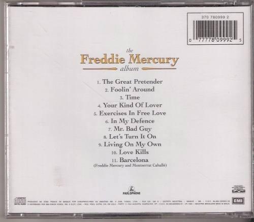 cd freddie mercury - the album