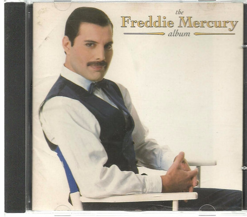 cd freddie mercury- the album ( emi ) 1993