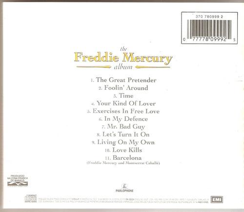 cd freddie mercury - the album - semi novo***