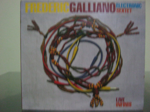 cd frederic galliano eletronic sextet - live infinis (imp.)