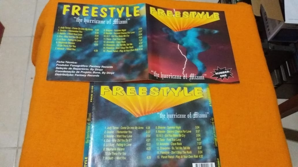 Cd Freestyle - The Hurricane Of Miami - Number One - 1998