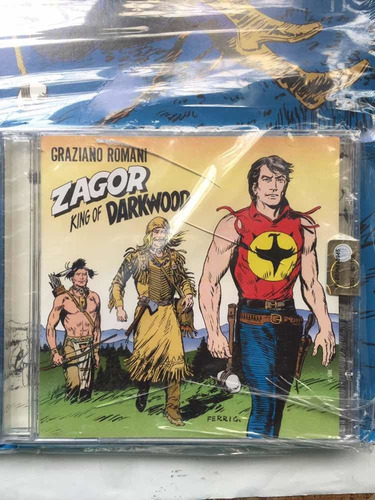 cd + fumetto zagor king of darkwood - bonellihq cx340 k19