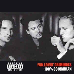 cd fun lovin' criminals 100% colombian - usa