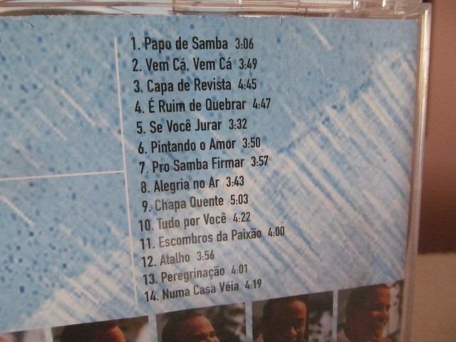 cd papo de samba fundo de quintal