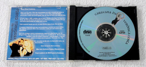 cd furacão 2000 - caravana da veronica costa