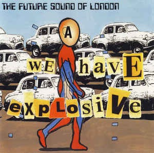 cd future sound of london explosive - usa