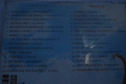 cd futuro esplendor varios chileno astrolabio maria beat 2cd