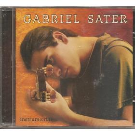 Cd Gabriel Sater - Instrumental (2006) Original Novo