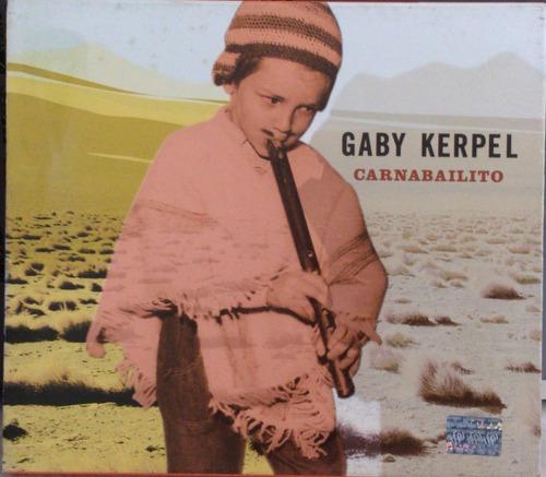 cd gaby kerpel - carnabailito  -  com luva  -  cd argentino