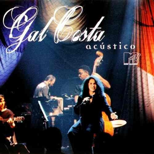 cd gal costa acústico mtv