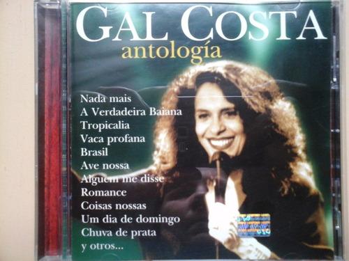 cd gal costa antologia excelente estado