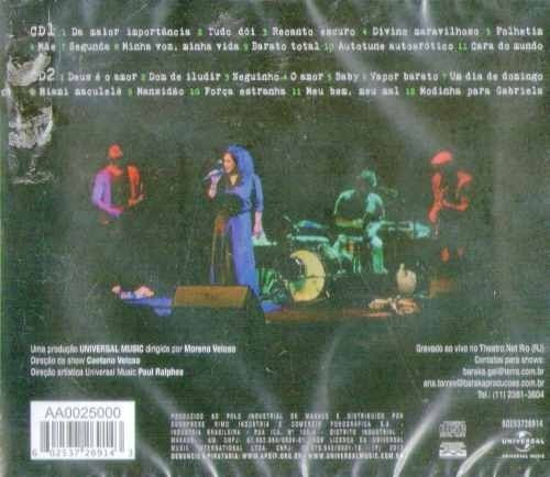 cd gal costa recanto ao vivo 2 cds