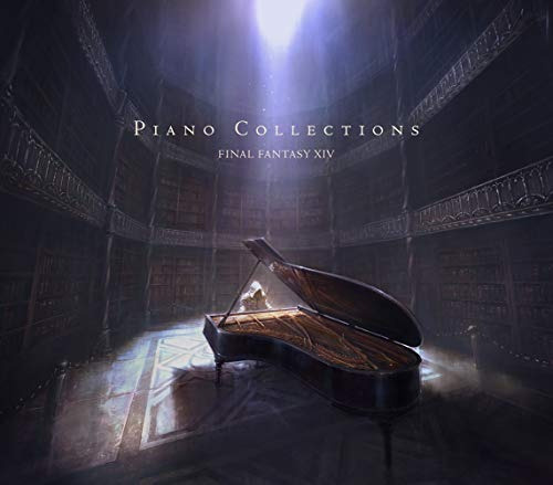 cd : game music - piano collections final fantasy 14...