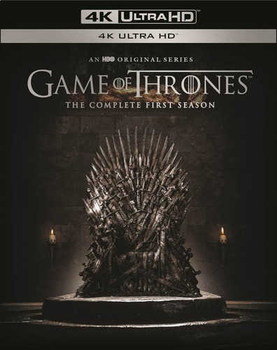 cd : game of thrones: the complete first season (black,...