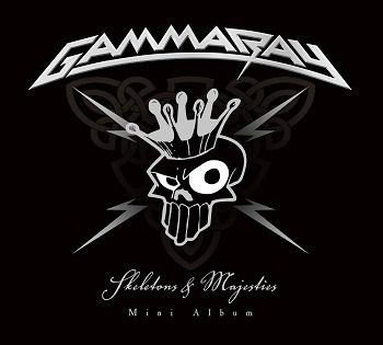 cd gamma ray: skeletons & majesties.  nuevo