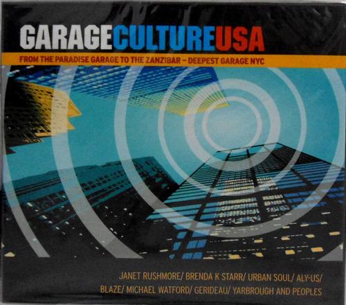 cd garage culture usa - box 4 cds - lacrado - novo