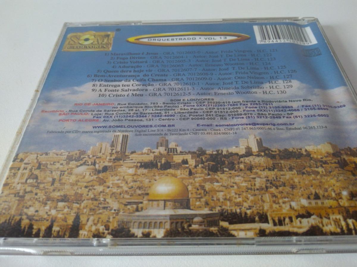Garpa De cd garpa de ouro louvor tradicional vol 13 desxz r 24 00 em