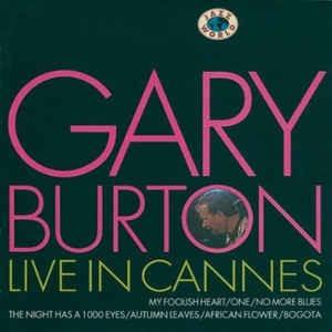 cd gary burton live in cannes