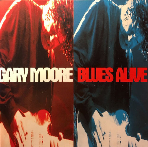 cd gary moore blues alive - made in holland