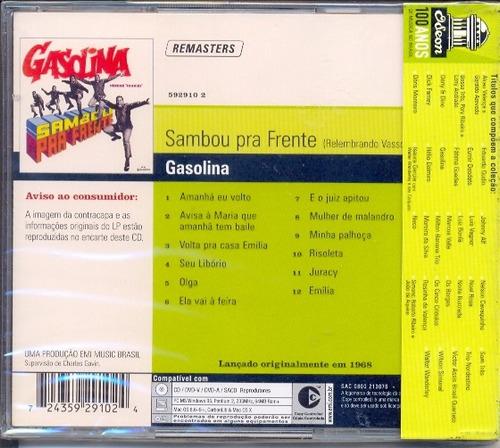 cd gasolina - sambou prá frente - 1968 - lacrado