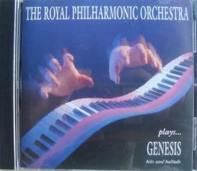 Cd Genesis Por La Royal Philarmonic Orchestra Instrumental