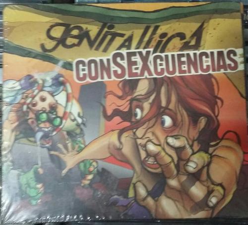 cd genitallica consexcuencias nuevo digipack