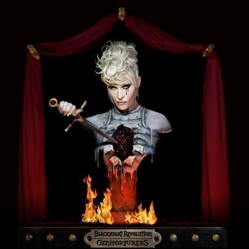 cd genitortures - blackheart revolution - novo!!