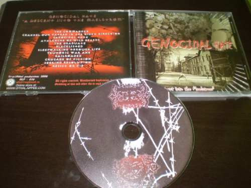cd genocidal hate -descent into the maelstrom absurd-rac-