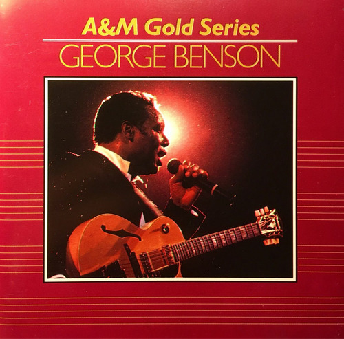 cd george benson a&m gold series - made in west germany